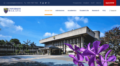 um.edu.my - welcome to university of malaya