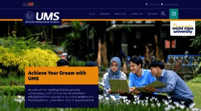 ums.ac.id - beranda  universitas muhammadiyah surakarta
