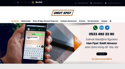 umutspot.com - umut spot - 2.el eşya pazarı
