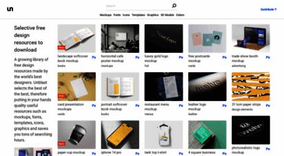 unblast.com - unblast - ive free design resources to download