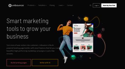 unbounce.com - unbounce - the landing page builder & platform