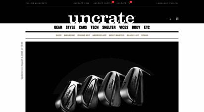 uncrate.com - uncrate
