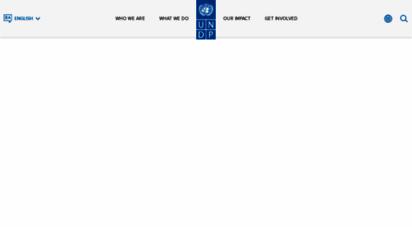 undp.org - undp - united nations development programme