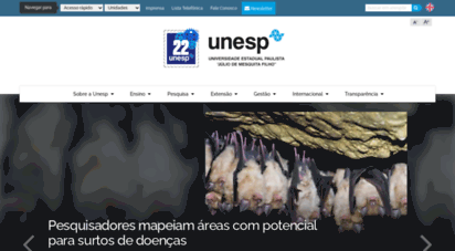 unesp.br - unesp - universidade estadual paulista - portal