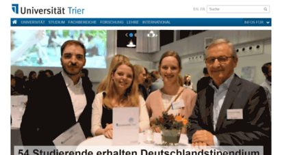 similar web sites like uni-trier.de