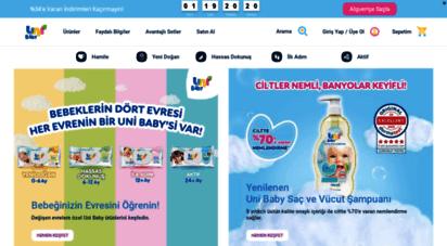 unibaby.com.tr - uni baby  bebekleri için hep iyisini isteyen annelerin markası