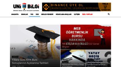 unibilgi.net - unibilgi - üniversite bilgi platformu
