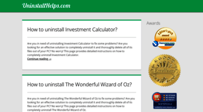 uninstallhelps.com - uninstallhelps.com - easy software uninstall guide