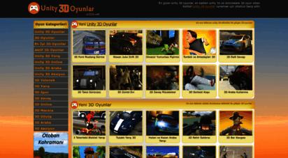 unity3doyunlar.com - unity 3d oyunlar - kaliteli 3d oyun sitesi