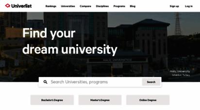 univerlist.com - find your dream university  univerlist