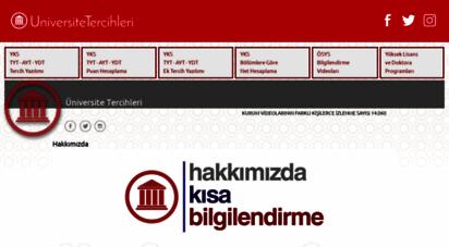 universitetercihleri.com - üniversite tercihleri - 2015 bölüm bilgilendirme ve ygs lys tercihleri