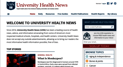 universityhealthnews.com - university health news
