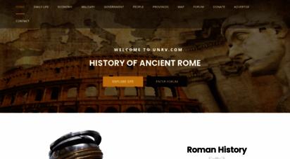 unrv.com - unrv history - roman empire