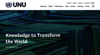 unu.edu