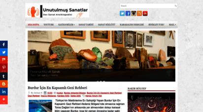 unutulmussanatlar.com - türk el sanatları ve hobiler