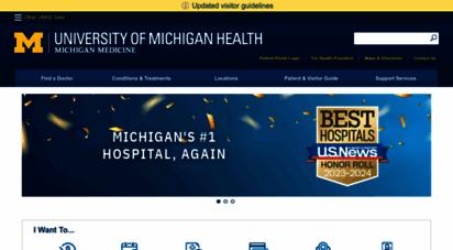 uofmhealth.org - university of michigan  michigan medicine