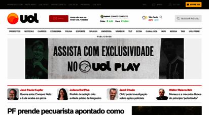 uol.com.br - uol - o melhor conteúdo