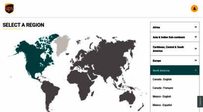 ups.com - global home: ups - united states