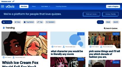 uquiz.com - uquiz.com - free online quiz maker for your website or blog