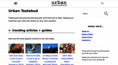 urbantastebud.com - urban tastebud