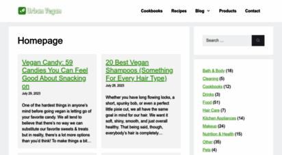 urbanvegan.net - urban vegan  learn to live a cruelty-free lifestyle