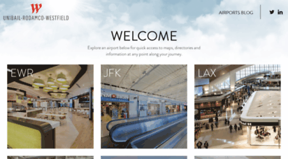 urwairports.com - urw airports - one airport journey. one holistic experience.