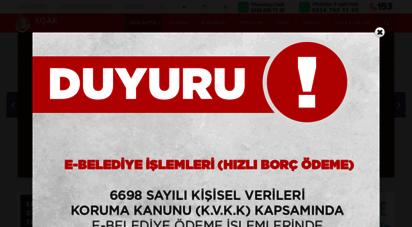 usak.bel.tr - ana sayfa  t.c. uşak belediye başkanlığı