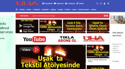 usakhaberajansi.com - uşak haber ajansı  uşak haber - uşak haberleri