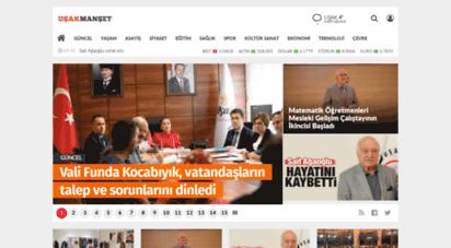 usakmanset.com - uşak haber  uşak haberleri - haberi