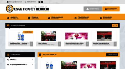 usakticaretrehberi.com - uşak ticaret rehberi - uşak´ın esnaf & firma rehberi