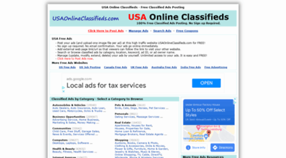 usaonlineclassifieds.com - usa free online classifieds
