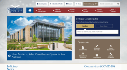 uscourts.gov - united states courts