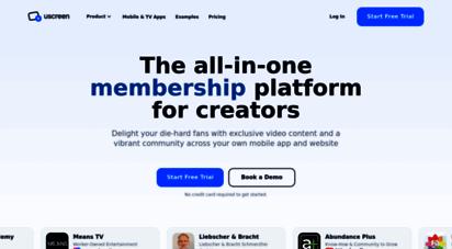 uscreen.tv - uscreen - the 1 vod platform for video monetization