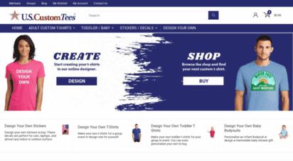f2461d119 Description: Us Custom Ink. Shop at U.S. Custom Tees for high quality t- shirts at cheap prices. Buy cool custom t-shirts. Cheap graphic tees with  free.