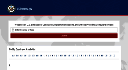 usembassy.gov - official list of embassies from the u.s. department of state