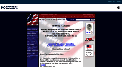 usflag.org - usflag.org: a website dedicated to the flag of the unitedstates of america