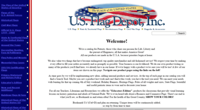usflagdepot.com - u.s. flag depot, inc.: flags, banners, flagpoles, patriotic gifts