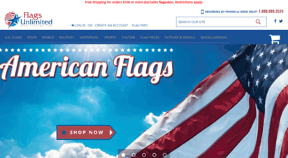 usflags.com - united states flags, american flags, state flags, international flags, country and sport teams flags, flags unlimited