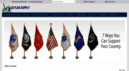 usflagsupply.com - largest ion of military & historical flags online at us flag supply 888442-3523 toll free, quality u.s. made flags, unparalleled service, fast turn around, satisfaction guaranteed