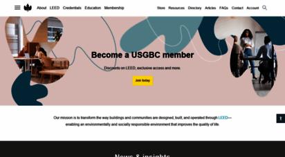 usgbc.org - usgbc homepage  u.s. green building council