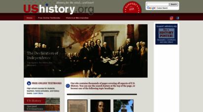 ushistory.org - us history
