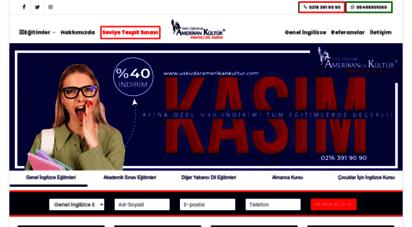 uskudaramerikankultur.com - üsküdar amerikan kültür yabancı dil kursu - üsküdar ingilizce kursu