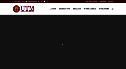 utm.my - universiti teknologi malaysia utm official website