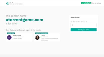 utorrentgame.com - the domain name utorrentgame.com is for sale
