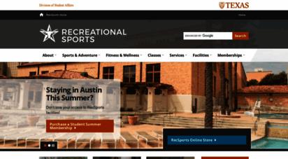 Welcome to Utrecsports org - UT RecSports