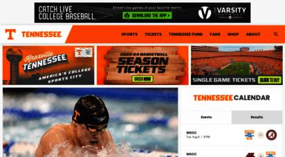 utsports.com - university of tennessee athletics - official athletics website