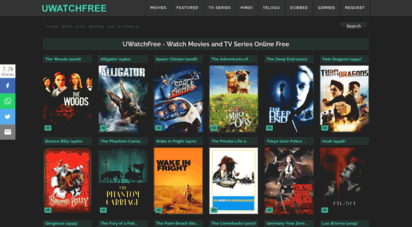 uwatchfree.tv - uwatchfree  watch movies and tv-series online free
