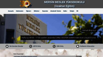 uzak4.mersin.edu.tr -