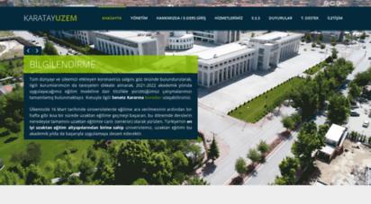 uzem.karatay.edu.tr -