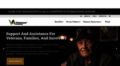 va.org - veterans resources, help and va loans